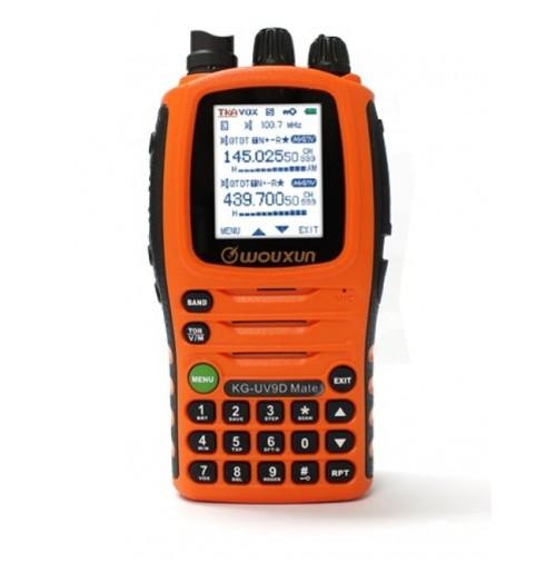 WOUXUN  KG-UV9D  MATE - RTX BIBANDA  FULL DUPLEX 144/430 MHZ RX 76-985  MHZ