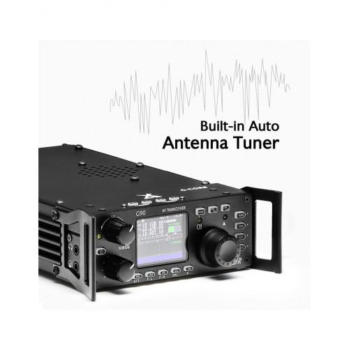 XIEGU G90 - RTX SDR HF QRP 0.5 - 30 MHz 20 W e accordatore automatico interno