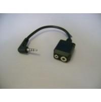 YAESU CT44 adattatore a 2 prese mic/ear VX1/2/3/5 FT-70D,FT2DE