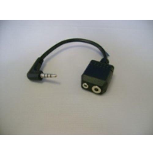 YAESU CT44 adattatore a 2 prese mic/ear VX1/2/3/5