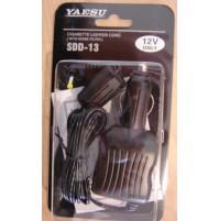YAESU SDD-13 ( ex EDC5B) cavo alim.ext per tutti i portatili presa accendisigari