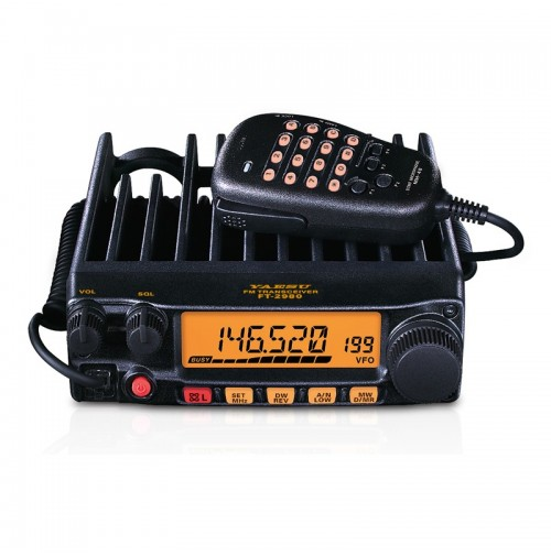 YAESU FT-2980R/E RICETRASMETTITORE VHF VEICOLARE 80 WATT