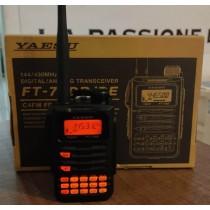 YAESU FT-70DE PORTATILE VHF/UHF ANALOG/C4FM - IN PERFETTO STATO