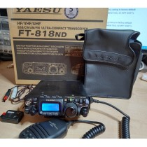 YAESU FT-818  HF/50/VHF/UHF QRP 8 mesi di vita - 5 ANNI GARANZIA YAESU