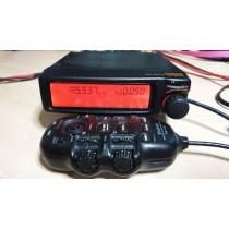 YAESU FT-8500 - RARISSIMO RTX VEICOLARE VHF UHF CON MICROFONO REMOTO