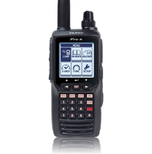 YAESU FTA-550L Ricetrasmettitore portatile banda aeronautica TASTIERA FUNZ. VOR