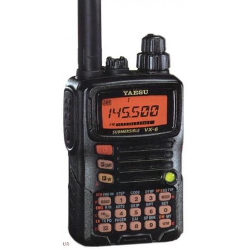 YAESU VX-6 Ricetrasmettitore Portatile 144/430 MHz