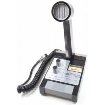 ZG ZETAGI MB+5 Microfono preamplificatoda Base con Volume + Tone + Vu Meter