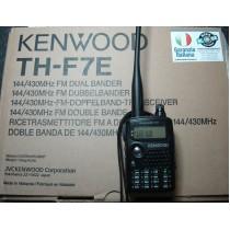 KENWOOD TH-F7E - RTX BIBANDA C/O SCANNER PORTATILE -  PARI AL NUOVO