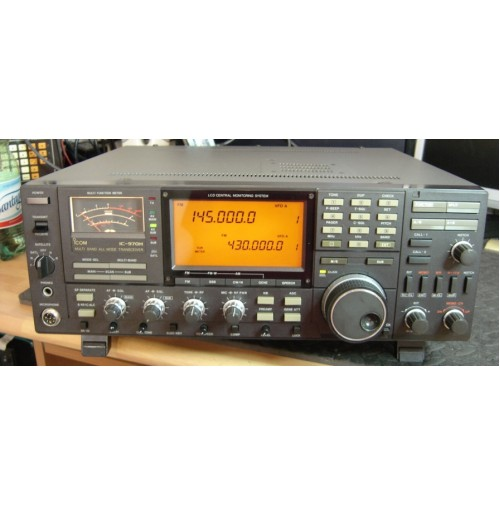 ICOM IC970H - RTX MITICO VHF UHF ALL MODE - PARI AL NUOVO