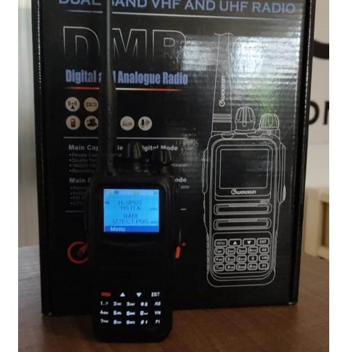 WOUXUN KG-UVN1P VHF/UHF DMR/ANALOGICO PORTATILE BIBANDA